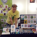 Here I am tabling at Craftacular 11 in Vanouver.