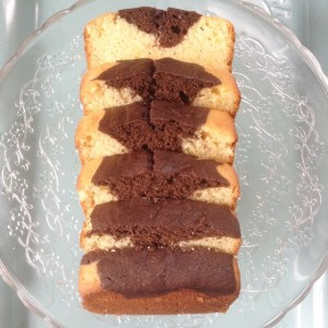 Chocolate orange quick bread loaf