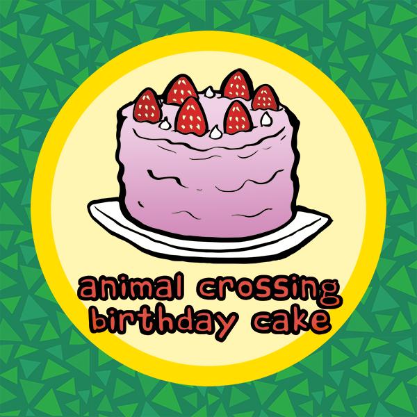 animal crossing birthday cake recipe
